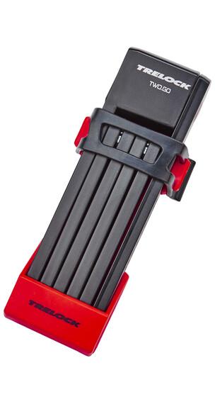Trelock FS 200/75 TWO.GO slot 75 cm rood